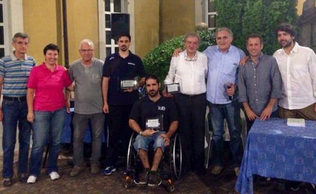 foto di gruppo con i protagonisti della Festa dello Sport
