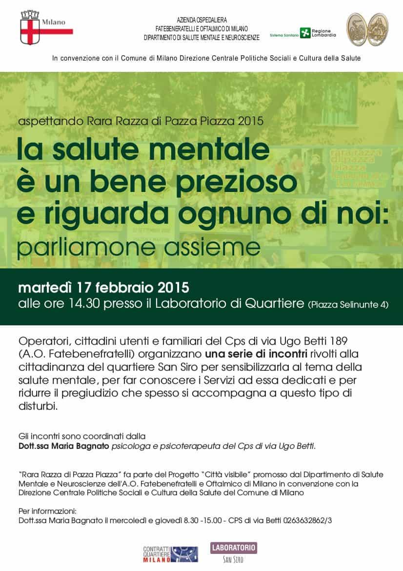 Volantino incontro Rete Informativa 2015