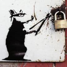 Facciamola Fuori Banksy
