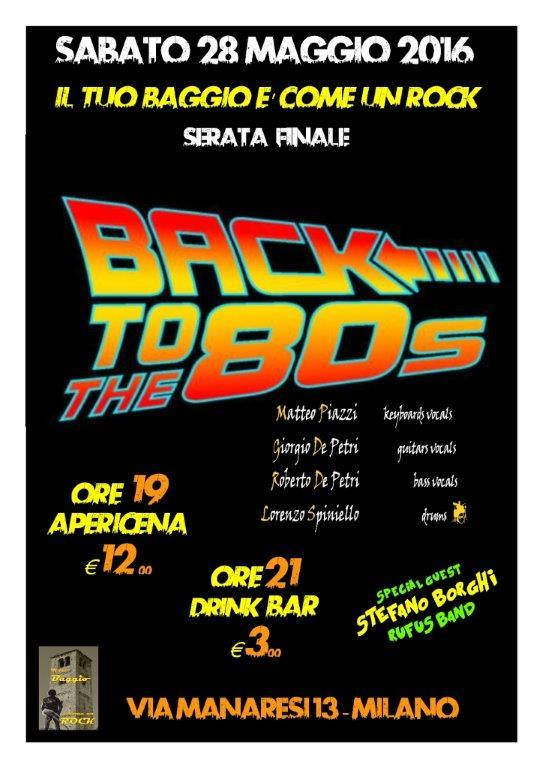 Back to the 80's