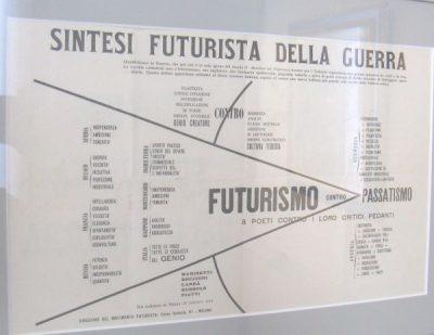 manifesto futurista della guerra
