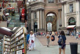 Galleria Vittorio Emanuele e Interno della Libreria Bocca